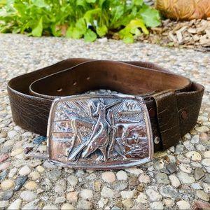 Vintage 1975 Davis Baldwin Rodeo Cowboy Belt, 35